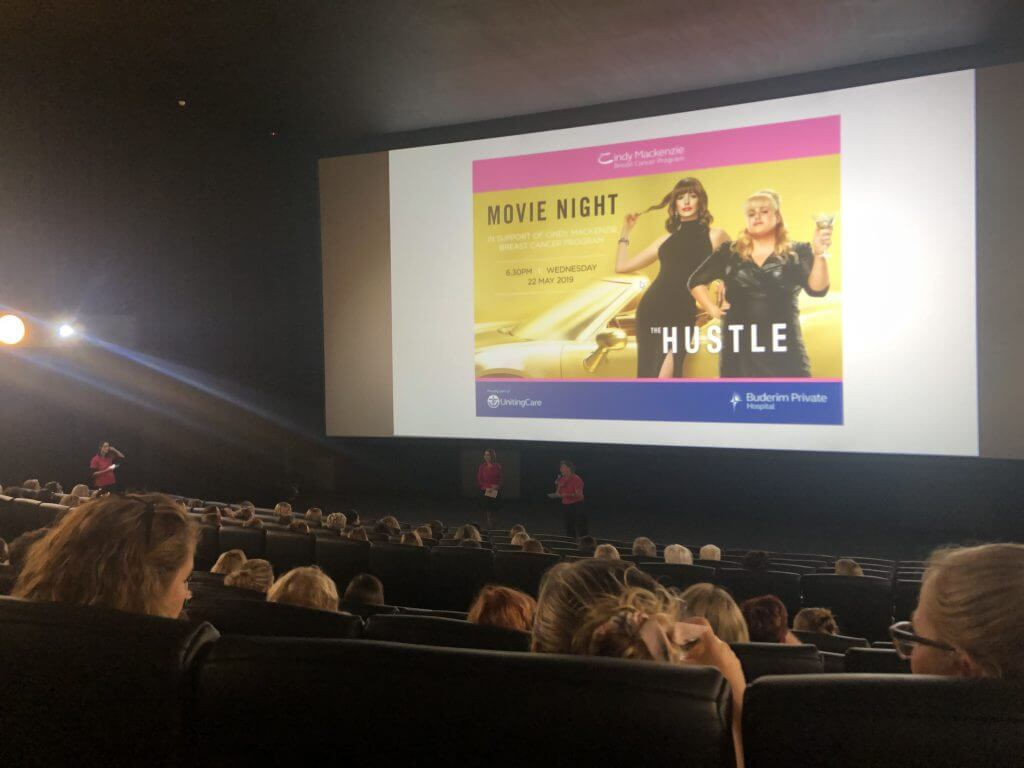The Hustle Rebel Wilson Anne Hathaway Fundraiser Breast Cancer FC Lawyers Sunshine Coast Maroochydore Cinemas