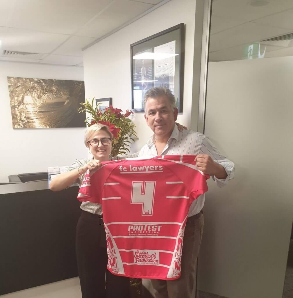Glenn Ferguson AM Chloe kopilovic usc rugby business lawyers sunshine coast wills estates protest engineering