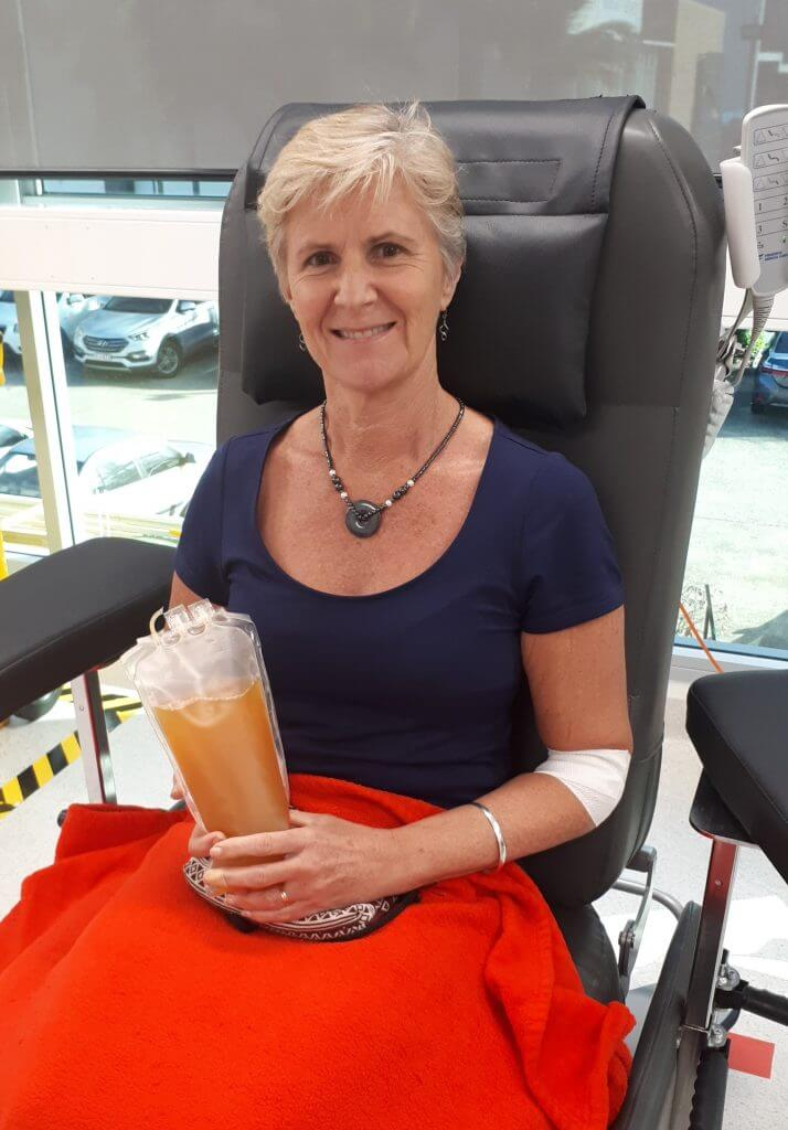 Kathy Bliss Australian Red Cross Blood Donation
