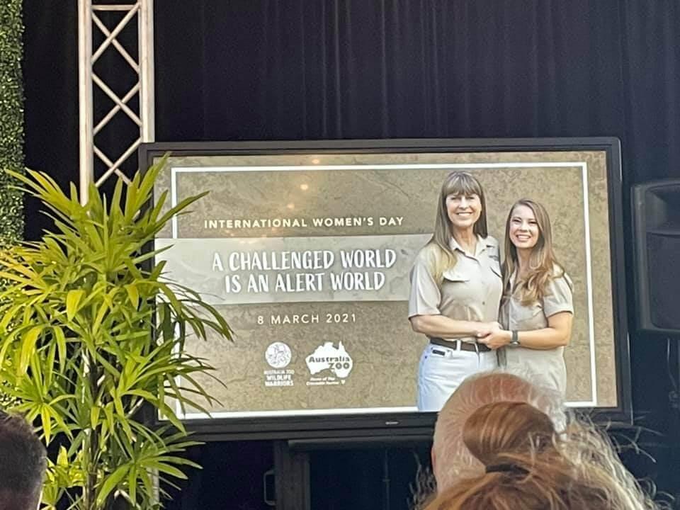 Australia Zoo International Women's Day 2021 Sunshine Coast Queensland